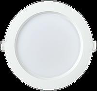 Светильник LED ДВО 1704 белый круг 24Вт 4000K IP40 IEK
