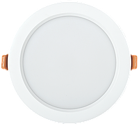 Светильник LED ДВО 1802 PRO белый круг 20Вт 4000K IP40 IEK