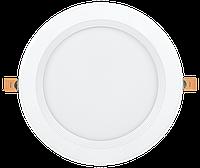 Светильник LED ДВО 1804 PRO белый круг 40Вт 4000K IP40 IEK