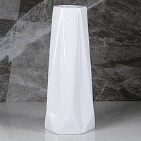 """Ваза настольная """"Марокко"""", белый цвет, 34 см, фото 1"""