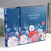 """Фотоальбом на 500 фото 10х15 см """"Нарисованные цветы"""" в коробке МИКС 33,5х30х6 см, фото 1"""