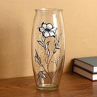 Ваза Цветок на проз.стекле, d-7см 10х23 см
