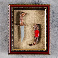 Изделие сувенирное в раме Кинжал, 25х20 см, фото 1