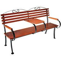 """Скамейка """"Романтика"""", 160 х 75 х 98 см, со столиком"""