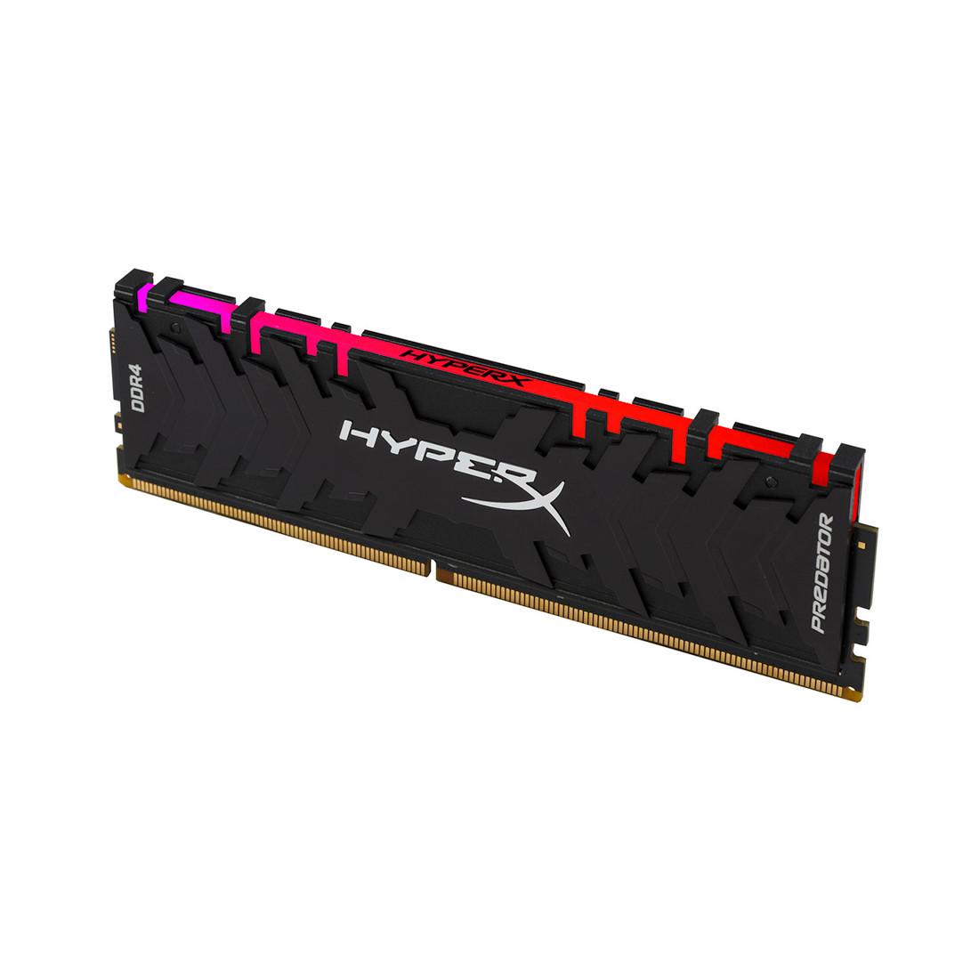 Модуль памяти Kingston HyperX Predator RGB HX432C16PB3A/16 (DDR4, 16GB, DIMM)