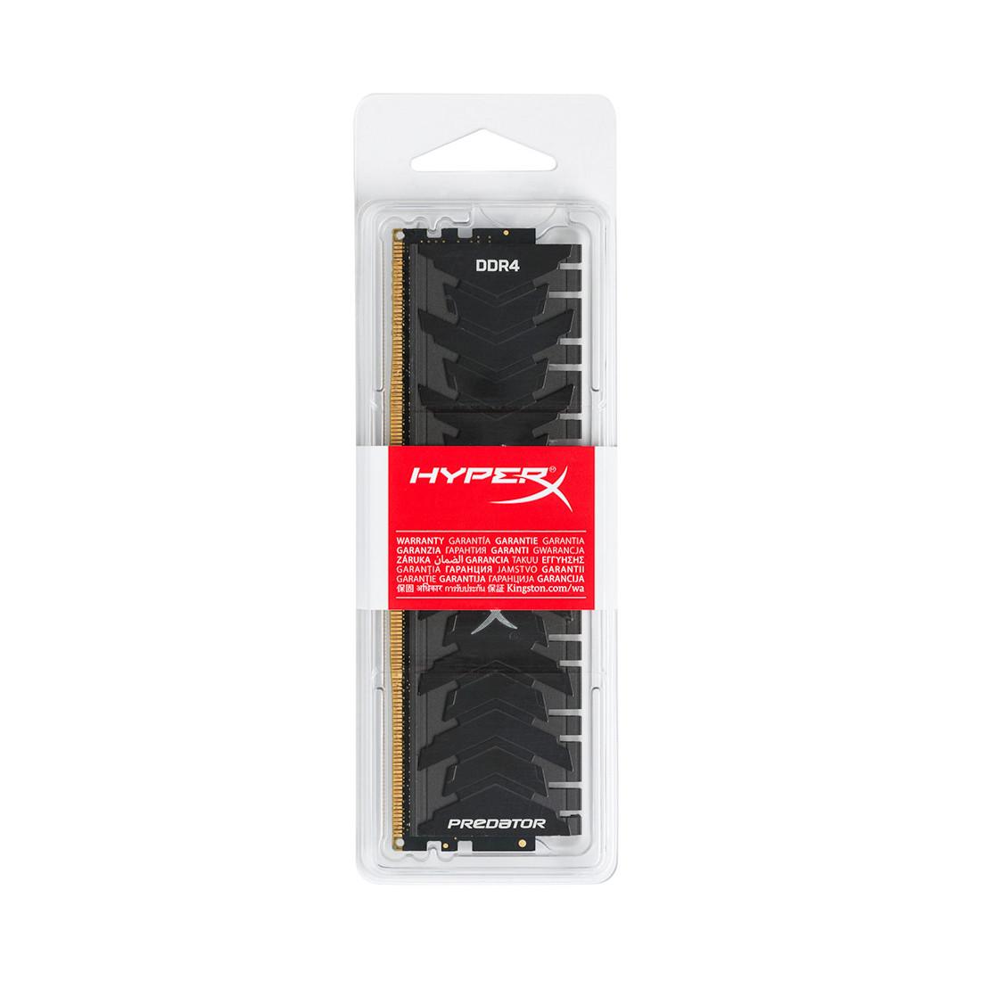 Модуль памяти Kingston HyperX Predator HX430C15PB3/16 (DDR4, 16GB, DIMM)