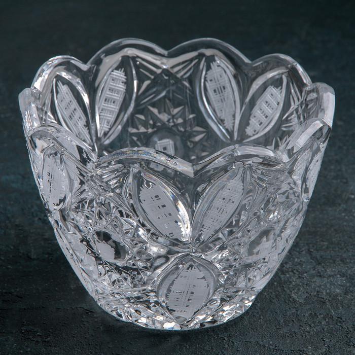Салатник хрустальный 15,5х11,3 см, 900 мл
