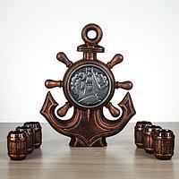 "Набор для коньяка ""Якорь"", 7 предметов, 1/0.07 л, фото 1"
