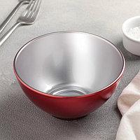 Салатник 500 мл Flashy Breakfast, цвет красный, фото 1