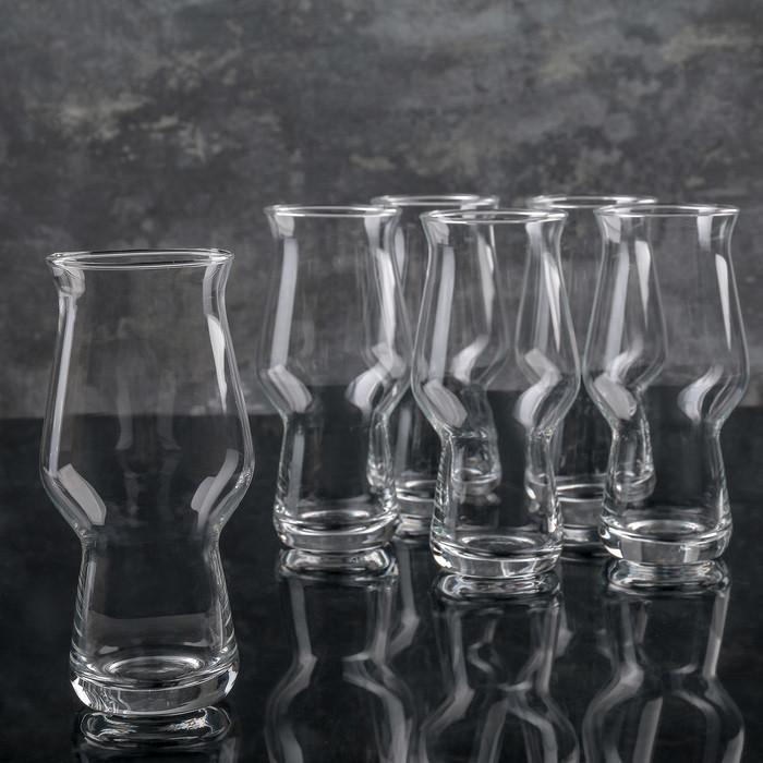 Набор бокалов для пива 270 мл, 6 шт