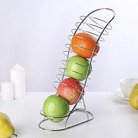 Ваза для фруктов «Вертикаль», 20×10×33 см