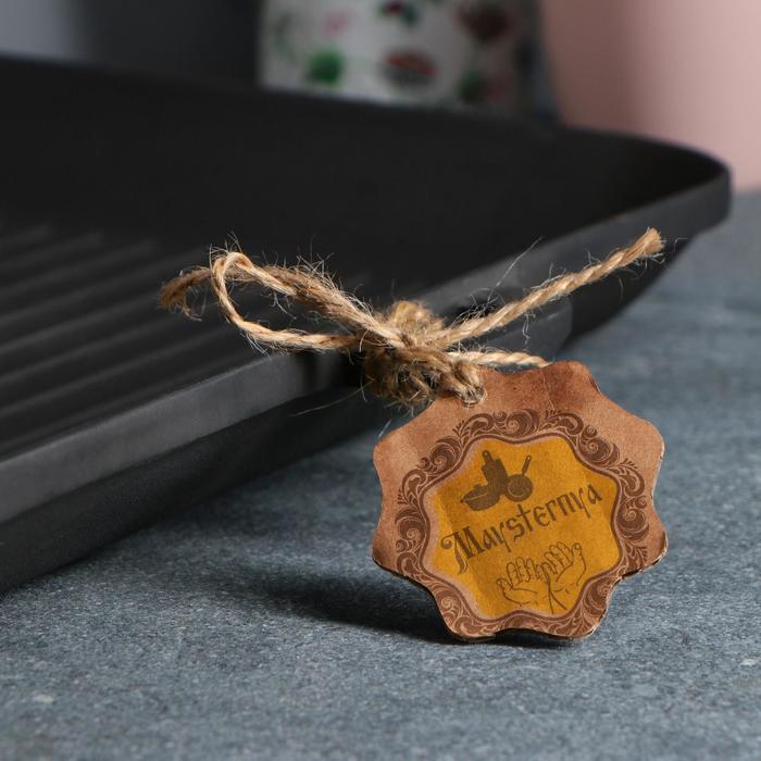 Сковорода чугунная квадрат гриль, 350 х 350 х 40 мм, премиум набор - фото 5