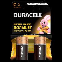 Батарейка DURACELL Basic С 2шт LR14 (Бочонок)