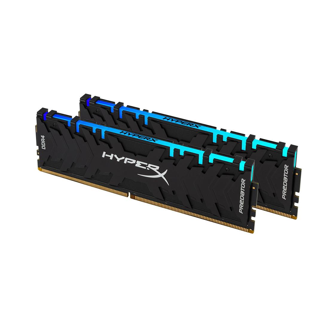 Комплект модулей памяти Kingston HyperX Predator RGB HX432C16PB3AK2/32 (DDR4, 2x16GB, DIMM)