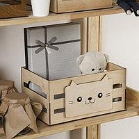 Ящик для хранения «Кот», 300 × 150 × 200 мм, фото 1