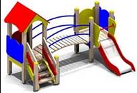 Детский игровой комплекс MF-304