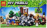 "Bela My World 33231 Конструктор ""Падение башни"" Майнкрафт (Аналог LEGO)"