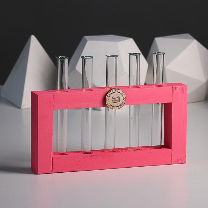 Рамка 30 х 15 см шильдиком, розовый