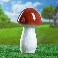 """Садовая фигура """"Белый гриб"""" 22 см"""