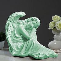 """Светящаяся фигура """"Ангел дева сидя большая"""" 45х35х39см"""