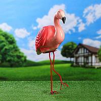 "Садовая фигура ""Фламинго"", 54 см, фото 1"