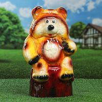 """Садовая фигура """"Медведь"""", 40 см, микс"""
