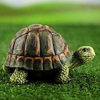 "Садовая фигура ""Черепаха круглая"" 9 х 16 х 11 см, фото 1"
