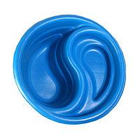 Пруд садовый пластиковый «Инь-Янь», 80 л, синий