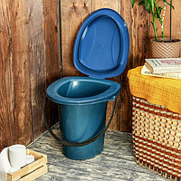 Ведро-туалет, 18 л, цвет МИКС, фото 1