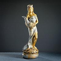 "Фигура ""Фортуна большая"" золото-серебро 64х20х20см"
