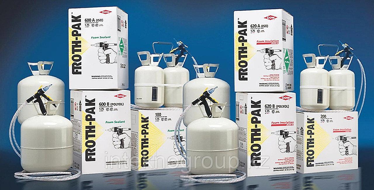 FROTH-PAK - огнестойкая (переносная) двухкомпонентная система распыления полиуретановой пены