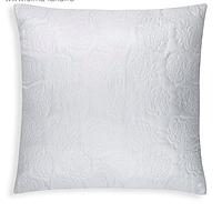 Подушка 70х70 см цв. белый, полиэфирное волокно, пэ 100%
