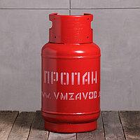 Баллон пропановый, 27 л, с вентилем, пустой, ГОСТ 15860-84, фото 1