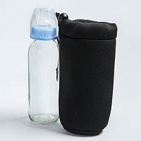 Термосумка для бутылочки, цвет черный, фото 1