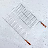 Решетка-гриль 50 х 60 см с деревянными ручками