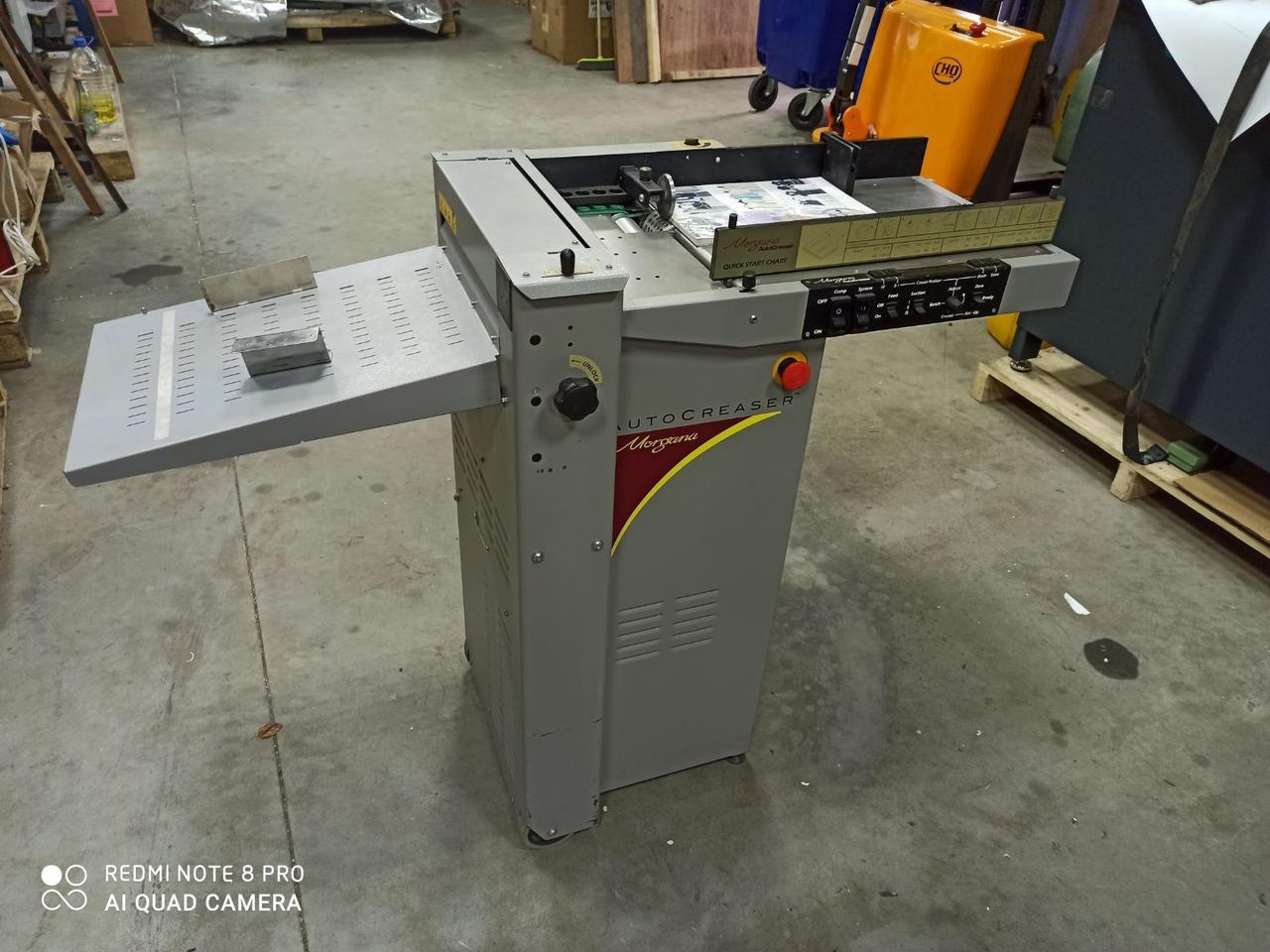 Автоматическая биговальная машина Morgana  AutoCreaser 33,  2005 г.в.