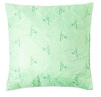 Подушка Бамбук 70х70 см, цв.зелёный, полиэфирное волокно, пэ 100%