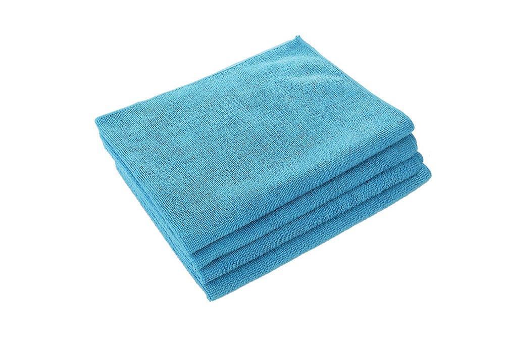 MICROFIBRE ворсовая (синяя)- 40*40см