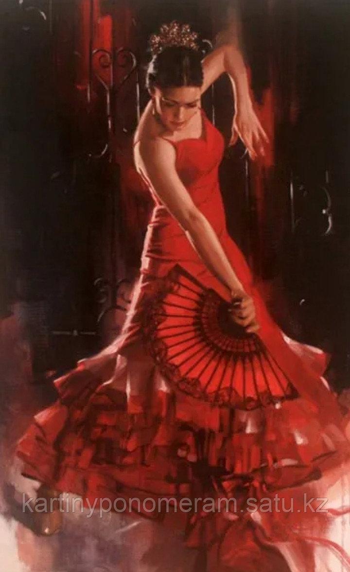 "Картина по номерам ""Танец фламенко"""