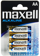 Батарейки MAXELL ALKALINE AA (пальчиковые) - 4 шт.