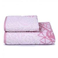 Полотенце махровое Antique lace, 70х130 см, цвет розовый, фото 1
