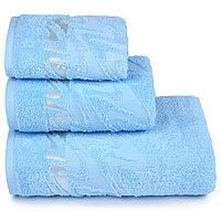 Полотенце махровое «Brilliance» 70х130 см, цвет голубой, 390 гр/м2