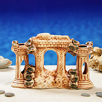 """Декорация для аквариума """"Грот с колоннами'', 7 х 22 х 15 см, фото 1"""