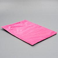 Лежанка согревающая с фольгированной вкладкой. 50 х 38 см  микс цветов