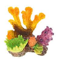 """Декор для аквариума """"Коралловый островок"""", 10 х 8 х 9,5 см"""