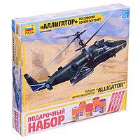 Сборная модель «Российский боевой вертолёт Ка-52 «Аллигатор», МИКС, фото 1