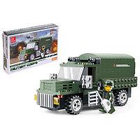 Конструктор Армия «Военный грузовик», 182 детали, фото 1