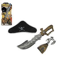 Набор пирата «Капитан», 3 предмета