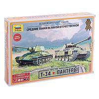 Набор сборных моделей «Великие противостояния: Т-34/76 против «Пантеры», фото 1