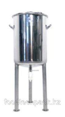 Бак для замачивания для замачивания лекарственных трав в растворах (вода, спирт, гликоль и т.д.) 125л